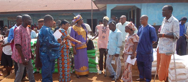 NRA Donates to Amputees & War Wounded & Raised Awareness on Ebola Preventive Methods